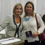 Me and Lisa Larter - 2015 MMM Workshop